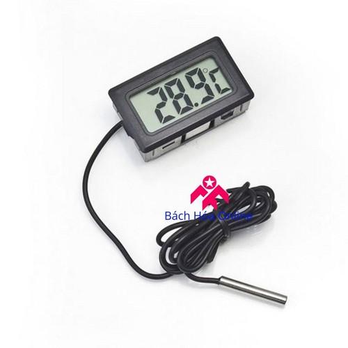 Đồng hồ đo nhiệt độ cảm biến chống nước mini
