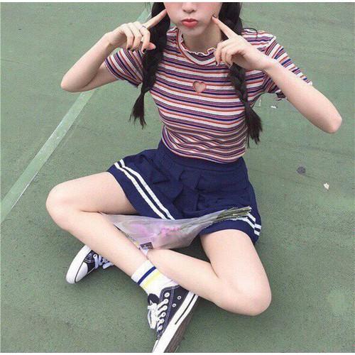 Áo kiểu croptop nữ xinh xắn - 9057444 , 18733749 , 15_18733749 , 69000 , Ao-kieu-croptop-nu-xinh-xan-15_18733749 , sendo.vn , Áo kiểu croptop nữ xinh xắn