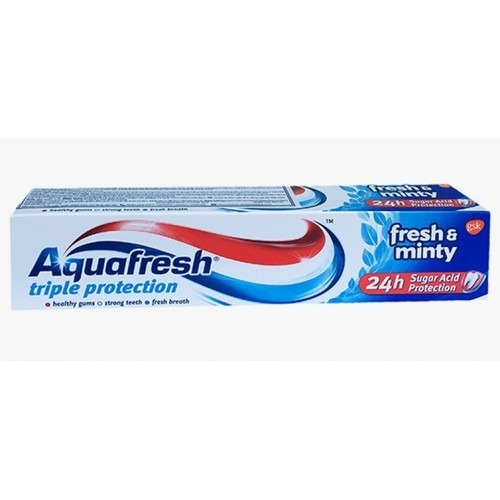 Kem Đánh Răng Aquafresh Triple Protection 100ml - 9058592 , 18735208 , 15_18735208 , 40000 , Kem-Danh-Rang-Aquafresh-Triple-Protection-100ml-15_18735208 , sendo.vn , Kem Đánh Răng Aquafresh Triple Protection 100ml