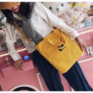 Túi vải canvas đeo chéo kèm xách tay - TV003 - TV003 thumbnail