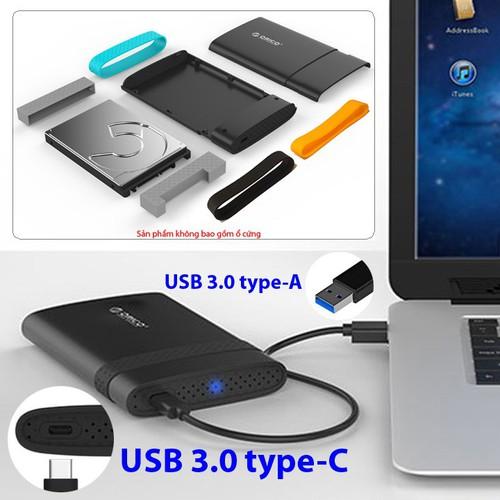 Box ổ cứng 2.5 inch SATA USB 3.0 Orico 2538C3