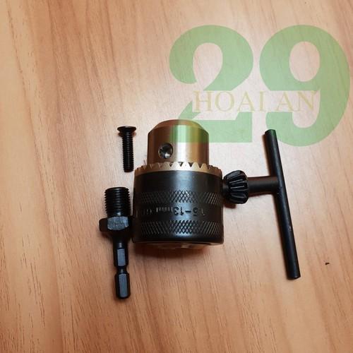 Bộ chuyển đổi đầu cặp mũi khoan 13 ly khóa tay cho máy bắn vít - 9061313 , 18738972 , 15_18738972 , 119000 , Bo-chuyen-doi-dau-cap-mui-khoan-13-ly-khoa-tay-cho-may-ban-vit-15_18738972 , sendo.vn , Bộ chuyển đổi đầu cặp mũi khoan 13 ly khóa tay cho máy bắn vít