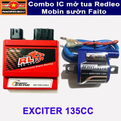 Combo mở tua Exciter 135 - IC Redleo và Mobin Faito