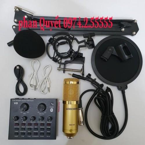 combo bộ míc thu âm livestream hát karaoke online micro WOAICHANG BM-900 CARD V8 bluetooth chân kep màng lọc - 9054567 , 18730041 , 15_18730041 , 600000 , combo-bo-mic-thu-am-livestream-hat-karaoke-online-micro-WOAICHANG-BM-900-CARD-V8-bluetooth-chan-kep-mang-loc-15_18730041 , sendo.vn , combo bộ míc thu âm livestream hát karaoke online micro WOAICHANG BM-900