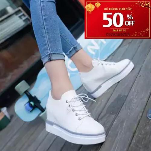 Giày Oxford nữ THỜI TRANG CHO NGƯỜI LÙN GIÚP CAO THÊM 8CM