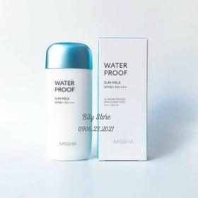Kem Chống Nắng Missha Waterproof Sun Milk SPF50+ PA++++ 70ml - KCN25