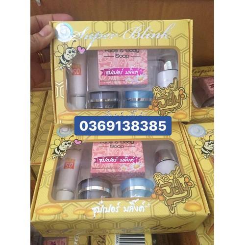 Bộ sản phẩm cao cấp Super Blink Thái Lan đặc trị nám tàn nhang - 5010614 , 18721719 , 15_18721719 , 380000 , Bo-san-pham-cao-cap-Super-Blink-Thai-Lan-dac-tri-nam-tan-nhang-15_18721719 , sendo.vn , Bộ sản phẩm cao cấp Super Blink Thái Lan đặc trị nám tàn nhang