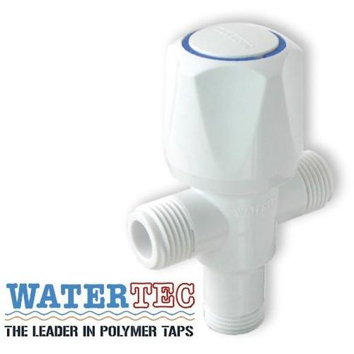 Van 3 ngã tay vặn nhựa trắng ABS WT-001H WATERTEC MALAYSIA