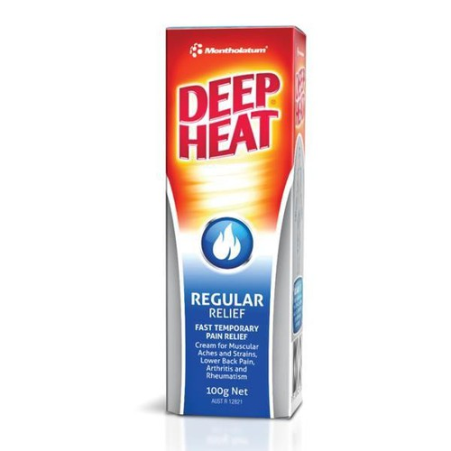 Dầu Xoa Bóp Deep Heat Regular Relief 140g - Xuất Xứ Úc - Giảm Đau Tận Gốc , Hiệu Quả Nhanh