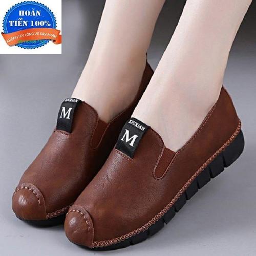Giày Lười Nữ êm chân thoải mái đi bộ