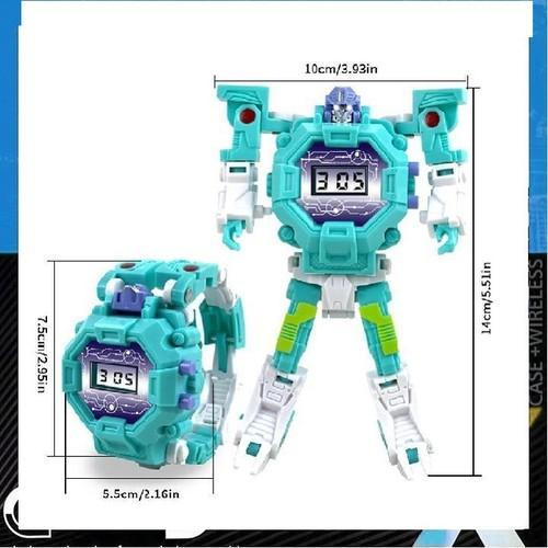 Robot Biến Hình Đồng Hồ 2 In 1 Cho Trẻ
