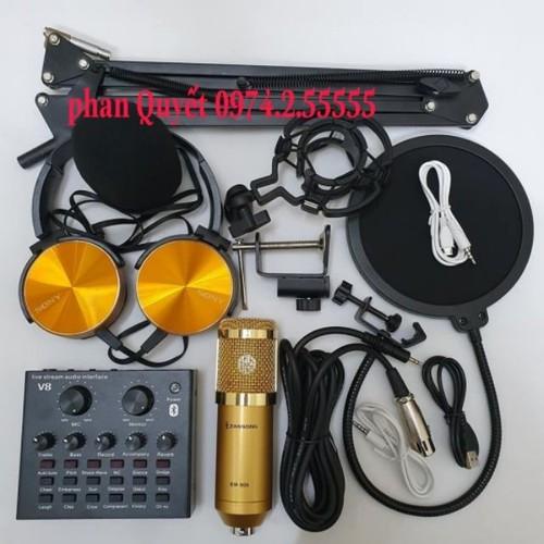 combo bộ míc thu âm livestream hát karaoke online micro ZANGSONG BM-900 CARD V8 bluetooth chân kep màng lọc tặng tai 450 - 9055354 , 18730915 , 15_18730915 , 650000 , combo-bo-mic-thu-am-livestream-hat-karaoke-online-micro-ZANGSONG-BM-900-CARD-V8-bluetooth-chan-kep-mang-loc-tang-tai-450-15_18730915 , sendo.vn , combo bộ míc thu âm livestream hát karaoke online micro ZANG