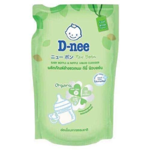 3 túi nước rửa bình Dnee 600ml