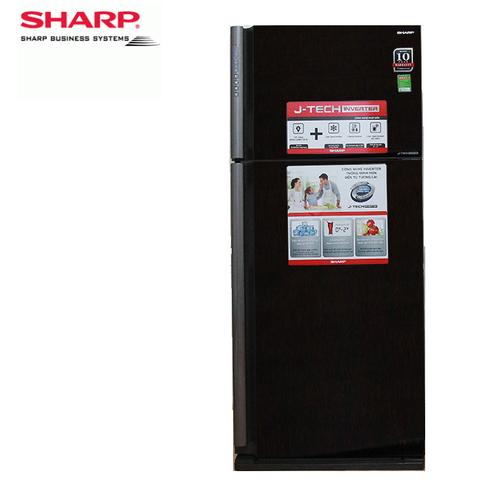 Tủ lạnh Sharp Inverter  SJ-XP590PG-BK 541 lít