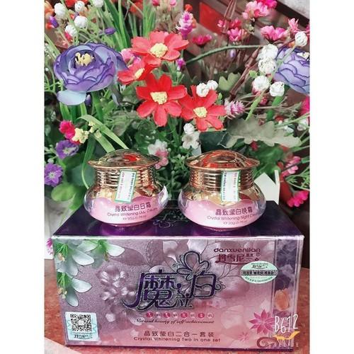 Bộ đôi mỹ phẩm trắng da trị tàn nhang thâm nám hoàng cung Danxuenilan HỒNG - 9048224 , 18720346 , 15_18720346 , 179000 , Bo-doi-my-pham-trang-da-tri-tan-nhang-tham-nam-hoang-cung-Danxuenilan-HONG-15_18720346 , sendo.vn , Bộ đôi mỹ phẩm trắng da trị tàn nhang thâm nám hoàng cung Danxuenilan HỒNG