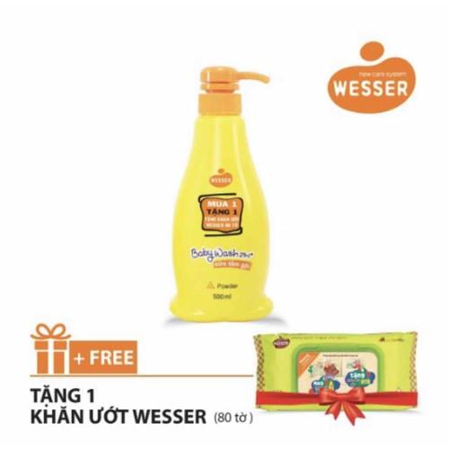Sữa tắm Wesser 2 in 1 hương phấn 500ml-Màu cam-Tặng 1 gói khăn ướt Wesser 80 tờ - 9063448 , 18741597 , 15_18741597 , 130000 , Sua-tam-Wesser-2-in-1-huong-phan-500ml-Mau-cam-Tang-1-goi-khan-uot-Wesser-80-to-15_18741597 , sendo.vn , Sữa tắm Wesser 2 in 1 hương phấn 500ml-Màu cam-Tặng 1 gói khăn ướt Wesser 80 tờ