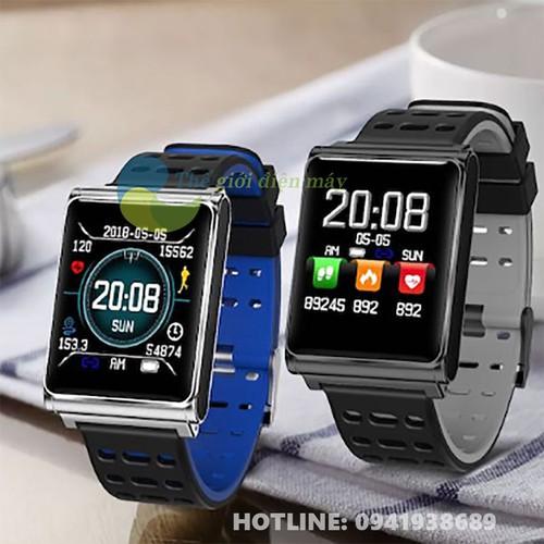Đồng hồ thông minh mặt vuông N98 - shop Thế giới điện máy