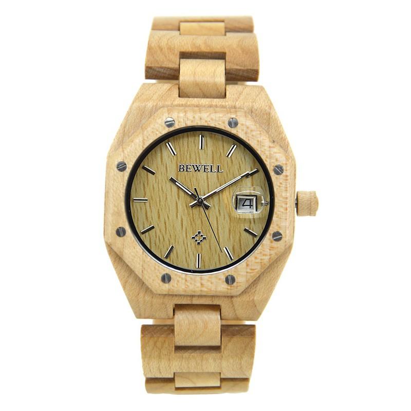 Đồng hồ đeo tay nam bewell chính hãng giá rẻ 7