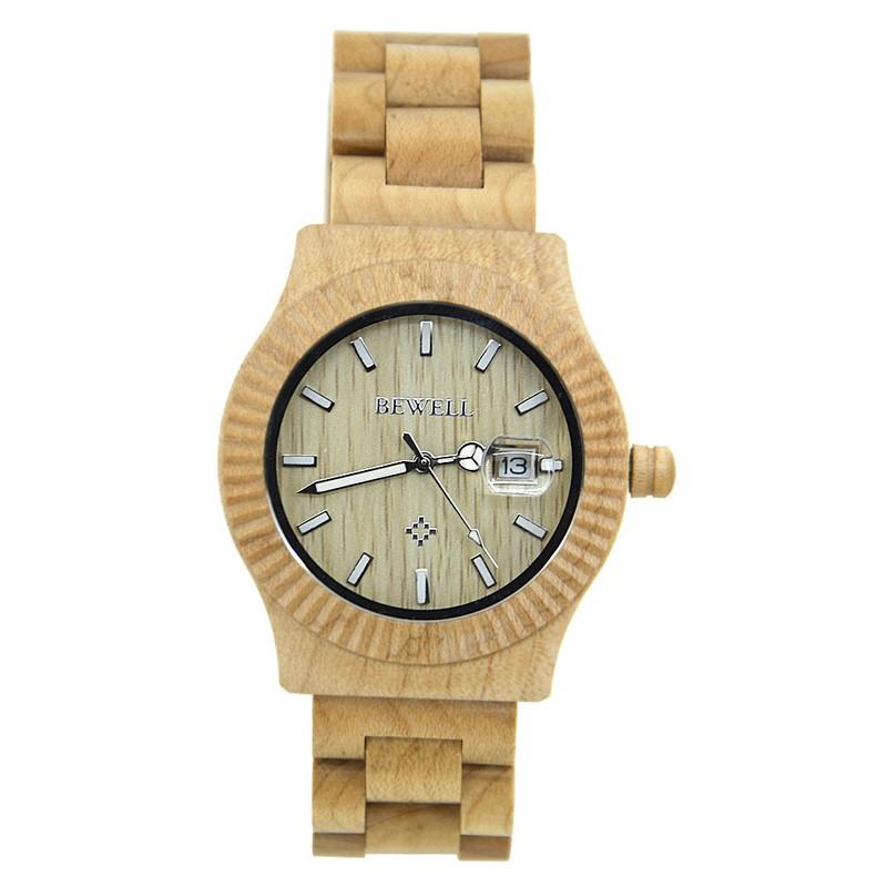 Đồng hồ nữ đeo tay bằng gỗ đẹp sang trọng mã 064AL bewell 1