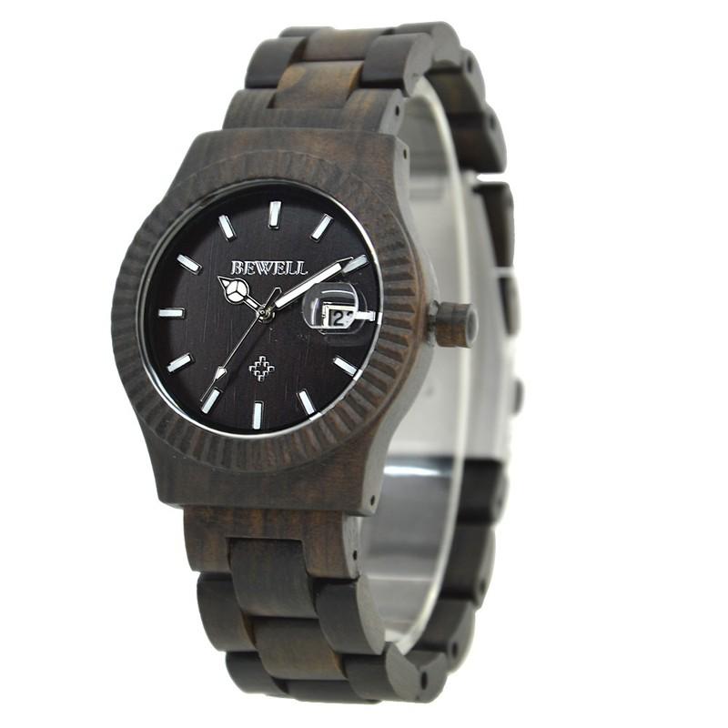 Đồng hồ nữ đeo tay bằng gỗ đẹp sang trọng mã 064AL bewell 8