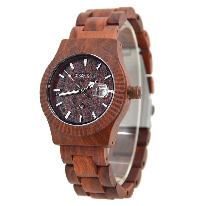 Đồng hồ nữ đeo tay bằng gỗ đẹp sang trọng mã 064AL bewell 6
