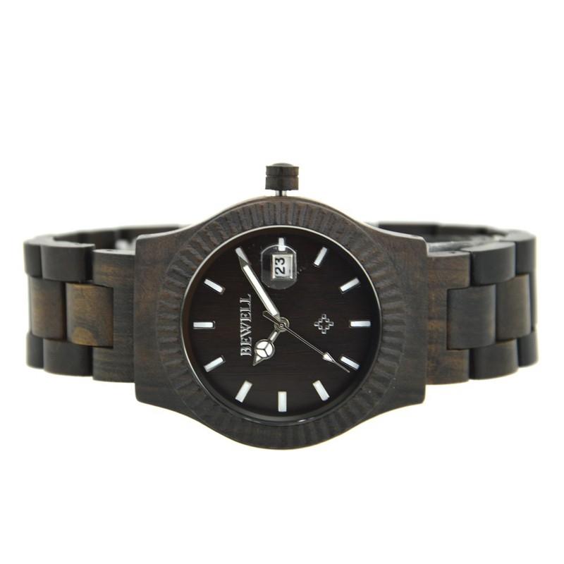 Đồng hồ nữ đeo tay bằng gỗ đẹp sang trọng mã 064AL bewell 9