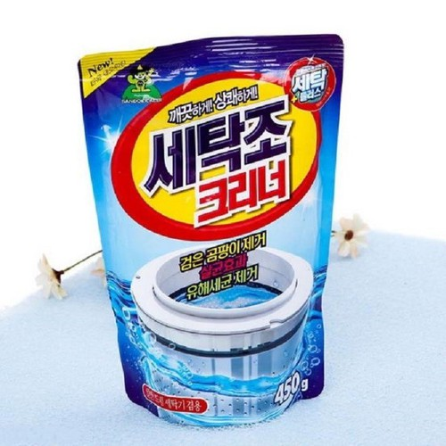Bột tẩy Vệ Sinh Lồng Máy Giặt Sandokkaebi Korea TÚI 450g - Hàn Quốc - KVS002 - 9051371 , 18725185 , 15_18725185 , 55000 , Bot-tay-Ve-Sinh-Long-May-Giat-Sandokkaebi-Korea-TUI-450g-Han-Quoc-KVS002-15_18725185 , sendo.vn , Bột tẩy Vệ Sinh Lồng Máy Giặt Sandokkaebi Korea TÚI 450g - Hàn Quốc - KVS002