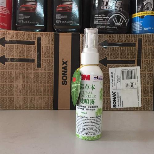 Dung Dịch Khử Mùi Xe Hơi 3M™ Natural Deodorizer 100ml pn12009