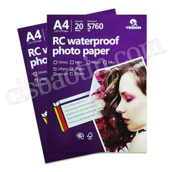 GIẤY IN GLOSSY PHOTO PAPER RC A4 270GMS