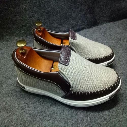 Giày lười giày mọi nam vải bố [ HOÀN TIỀN 2 PHẦN 100 SAU KHI NHẬN HÀNG VÀ ĐÁNH GIÁ]