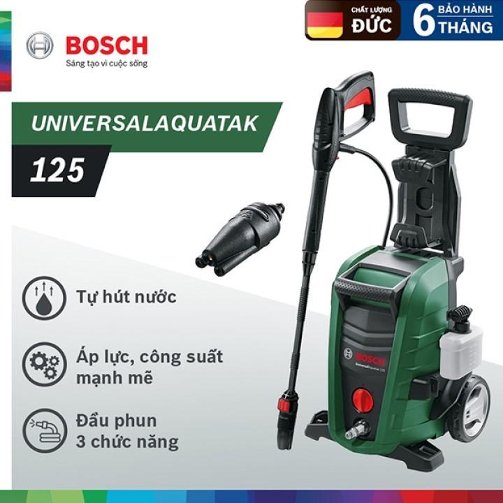 Máy phun xịt rửa áp lực cao Bosch Universal Aquatak 125