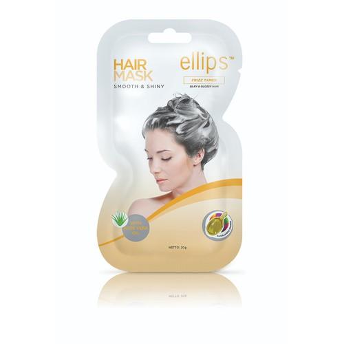 Ellips ủ tóc 20g Óng mượt Ellips Hair Mask 20g Smooth & Shiny