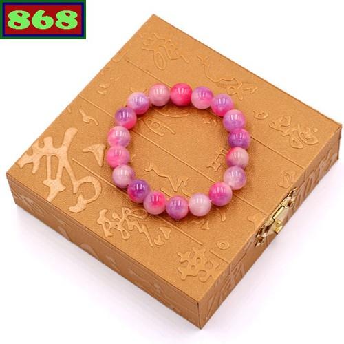 Vòng tay đá thạch anh hồng tím 13 ly kèm hộp gỗ - Sản phẩm mang ý nghĩa phong thủy - 9059218 , 18736359 , 15_18736359 , 200000 , Vong-tay-da-thach-anh-hong-tim-13-ly-kem-hop-go-San-pham-mang-y-nghia-phong-thuy-15_18736359 , sendo.vn , Vòng tay đá thạch anh hồng tím 13 ly kèm hộp gỗ - Sản phẩm mang ý nghĩa phong thủy