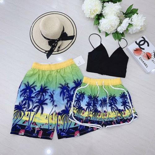 Set quần cặp đi biển