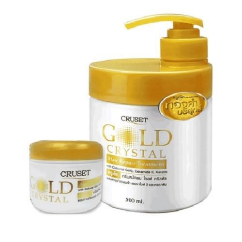 Kem ủ tóc Cruset gold crystal 500ml - tặng kèm chai 60ml - 5011500 , 18727844 , 15_18727844 , 180000 , Kem-u-toc-Cruset-gold-crystal-500ml-tang-kem-chai-60ml-15_18727844 , sendo.vn , Kem ủ tóc Cruset gold crystal 500ml - tặng kèm chai 60ml