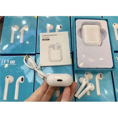 Tai Nghe Bluetooth i11 cao cấp Tws Bluetooth 5.0 Super Bass - 9062085 , 18740122 , 15_18740122 , 210000 , Tai-Nghe-Bluetooth-i11-cao-cap-Tws-Bluetooth-5.0-Super-Bass-15_18740122 , sendo.vn , Tai Nghe Bluetooth i11 cao cấp Tws Bluetooth 5.0 Super Bass