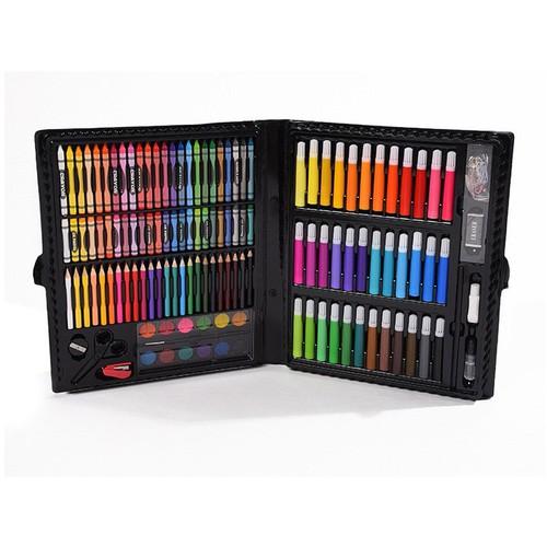 Bộ 150 cây bút chì sáp màu cao cấp cho bé học vẽ tô - HC0