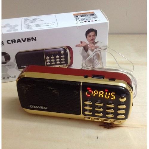 Loa thẻ nhớ Craven CR-25A - 9050655 , 18723951 , 15_18723951 , 105000 , Loa-the-nho-Craven-CR-25A-15_18723951 , sendo.vn , Loa thẻ nhớ Craven CR-25A