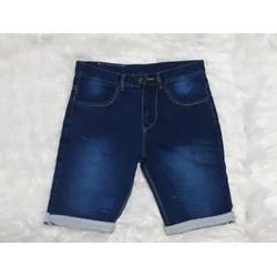 Quần shorts jeans thời trang trơn vãi dầy đẹp size 28 đến 34