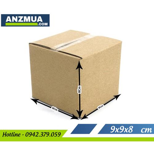 Combo 20 Hộp carton 3 lớp – 9x9x8cm