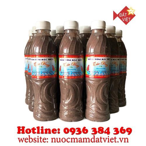 Combo 3 chai mắm tôm Ba Làng Thanh Hóa 500g loại đặc biệt