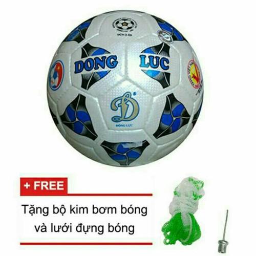 Bóng đá động lực ucv3_05 chính hãng- tặng kim và lưới đựng bóng