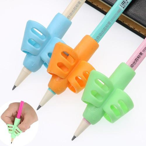 Bộ 3 đệm bút cánh bướm chống chai tay bằng cao su mềm mại