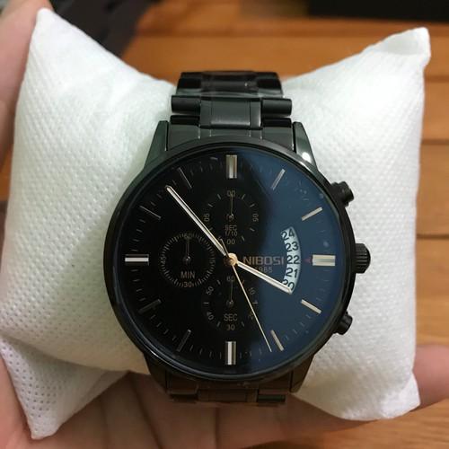 Đồng hồ Nam Nibosi2309  [ chính hãng,  full hộp , sách , khăn lau , thẻ bảo hàng chính hãng  ] chống nước , chống xước  3
