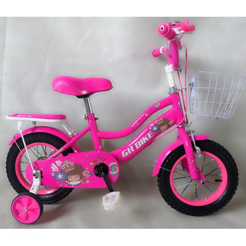 Xe đạp trẻ em GH Bike, 12 inch, nữ, màu hồng - 4832352 , 18755133 , 15_18755133 , 800000 , Xe-dap-tre-em-GH-Bike-12-inch-nu-mau-hong-15_18755133 , sendo.vn , Xe đạp trẻ em GH Bike, 12 inch, nữ, màu hồng