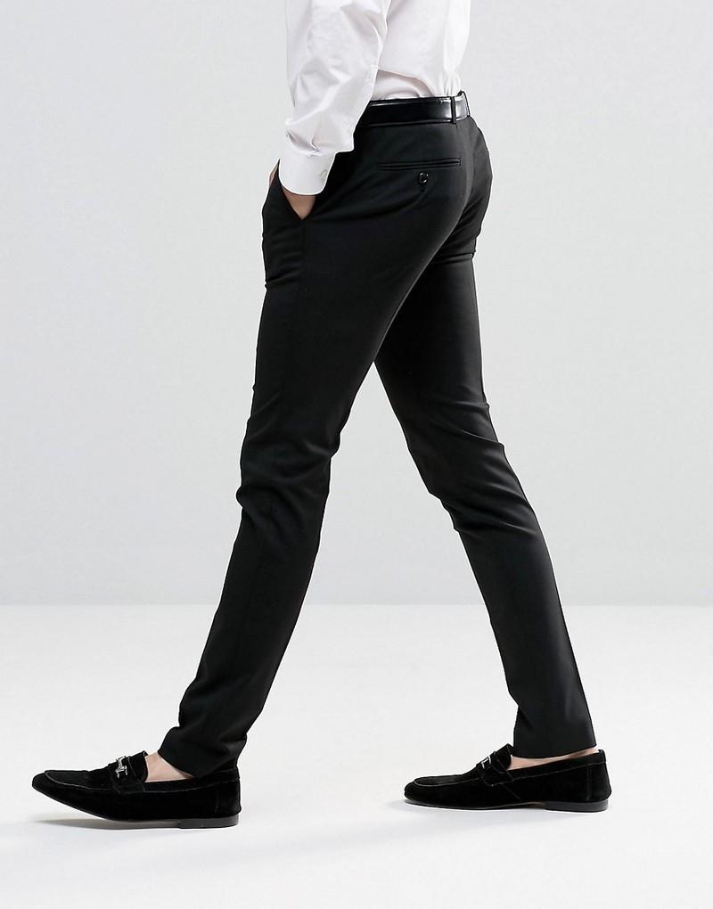 Quần tây nam Vải Tốt Hàn Quốc co giãn nhẹ ôm dáng  thoải mái quần âu nam Đen Xám QT025 [HỖ TRỢ 10K PHÍ VẬN CHUYỂN]