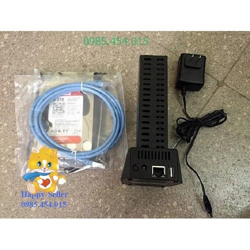 Dock Nas Segate hỗ trợ ổ cứng 6Tb_kết nối qua mạng wifi