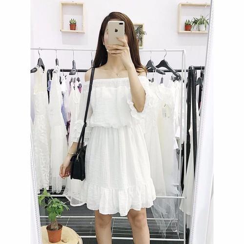 Đầm trắng trễ vai Yandy Dress dễ thương dịu dàng - 9068010 , 18748424 , 15_18748424 , 410000 , Dam-trang-tre-vai-Yandy-Dress-de-thuong-diu-dang-15_18748424 , sendo.vn , Đầm trắng trễ vai Yandy Dress dễ thương dịu dàng