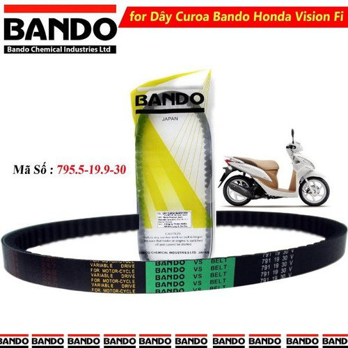 Dây Curoa Honda Vision Fi Hiệu Bando Thái Lan Chính Hãng - 9078808 , 18764214 , 15_18764214 , 320000 , Day-Curoa-Honda-Vision-Fi-Hieu-Bando-Thai-Lan-Chinh-Hang-15_18764214 , sendo.vn , Dây Curoa Honda Vision Fi Hiệu Bando Thái Lan Chính Hãng