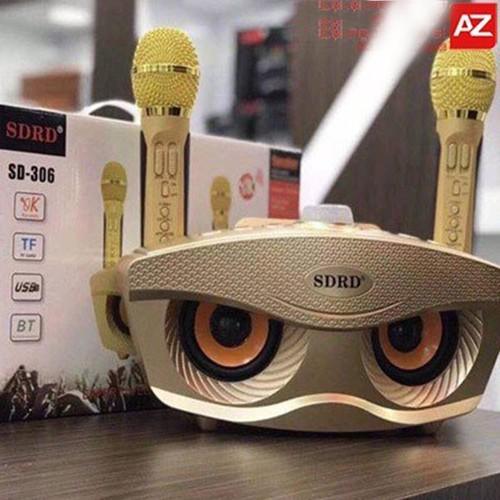 Loa Bluetooth Karaoke mắt cú SD-306 - 9064609 , 18743636 , 15_18743636 , 730000 , Loa-Bluetooth-Karaoke-mat-cu-SD-306-15_18743636 , sendo.vn , Loa Bluetooth Karaoke mắt cú SD-306